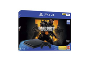 Sony PS4 SLIM 1 To F Black + Call Of Duty Black Ops 4