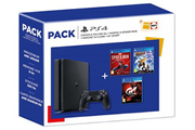 Sony SONY PACK PS4 500 GO + MARVEL'S SPIDER-Man +GT Sport + Ratchet & Clank