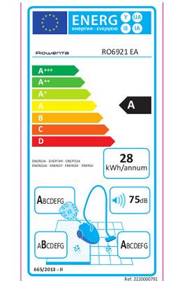 Rowenta RO6921EA X-TREM POWER CYCLONIC