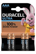 Duracell ULTRA POWER AAA LR03 x4