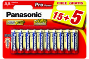 Panasonic LR06 AA 15+5 PRO POWER