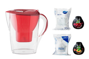 Brita MEGA PACK MARELLA ROUGE MIX AND GO
