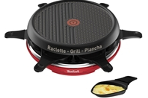 Tefal RACLETTE COLORMANIA GRILL PLANCHA 6 COUPELLES ROUG