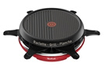 Tefal RACLETTE COLORMANIA GRILL PLANCHA 6 COUPELLES ROUG photo 1