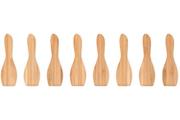 Pebbly Set de 8 spatules à raclette