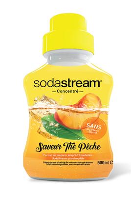 Sirop et concentré Sodastream CONCENTRE THE PECHE BLACK TEA 500 ML