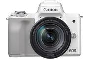 Canon EOS M50 Blanc + EF-M 18-150 mm f/3.5-6.3 STM