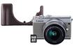 Canon EOS M100 Blanc + EF-M 15-45 S + EH31-FJ + Card 16 Go photo 1