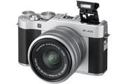 Fujifilm X-A5 silver + XC15-45mm PZ silver