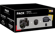 Sony PACK A7 II + 28-70MM + 50MM F1.8 + SD16GO + SACOCHE