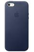 Apple COQUE CUIR BLEU POUR IPHONE SE MMHG2ZM/A