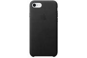 Apple Coque en cuir pour iPhone 8 / 7 - Noir