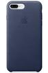 Apple COQUE DE PROTECTION EN CUIR BLEU POUR IPHONE 8 PLUS/7 PLUS