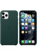 Apple Coque en cuir pour iPhone11Pro - Vert forêt