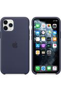 Apple Coque en silicone pour iPhone11Pro- Bleu nuit