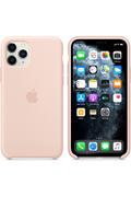Apple Coque en silicone pour iPhone11Pro - Rose des sables