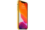 Apple Coque en cuir pour iPhone 11 Pro Max - Citron Meyer