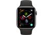 Apple Watch Série 4 GPS 44mm Boîtier en aluminium gris sidéral avec Bracelet Sport noir photo 2