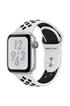 Apple Watch Série 4 Nike+ GPS 40mm Boîtier en aluminium argent avec Bracelet Sport Nike Platine pur/Noir