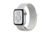 Apple Watch Série 4 Nike+ GPS 40mm Boîtier en aluminium argent avec Boucle Sport Nike Blanc polaire