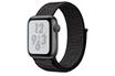 Apple Watch Série 4 Nike+ GPS 40mm Boîtier en aluminium gris sidéral avec Boucle Sport Nike Noir