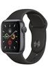 Apple Apple Watch Series 5 GPS 40mm, Boitier Aluminium Gris Sidéral avec Bracelet Sport Noir photo 2