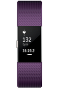Fitbit CHARGE 2 PRUNE ARGENT LARGE