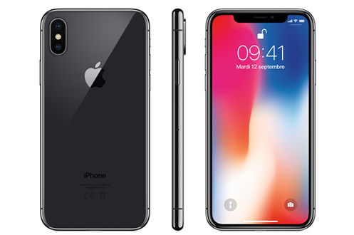 Apple IPHONE X 64 GO GRIS SIDERAL