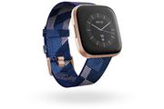 Fitbit Versa 2 SE Rose cuivré / Bleu marine et rose tissé