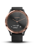 Garmin Vivomove HR Sport noir, rose Gold