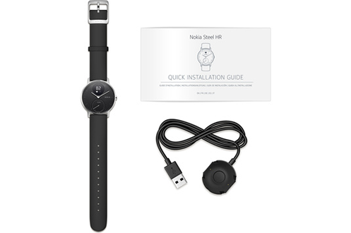 Withings - NOKIA STEEL HR 36MM NOIRE